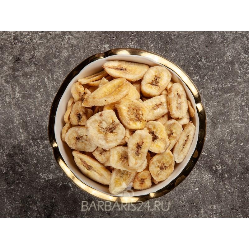 Бананы сушеные (чипсы)