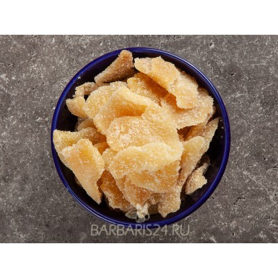 Цукаты из имбиря в сахаре
