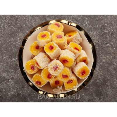Рахат-лукум со вкусом апельсина