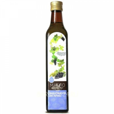 Масло виноградной косточки рафинированное 0,5 л.