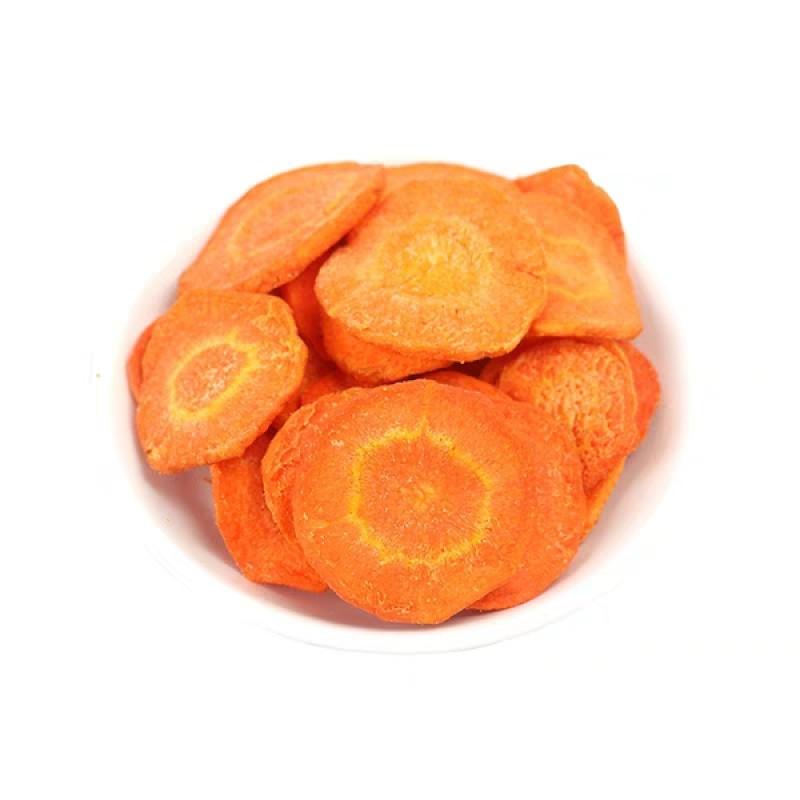 Морковь сушеная (чипсы)