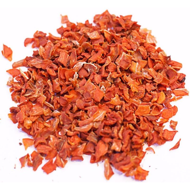 Морковь (сушеная, резаная)
